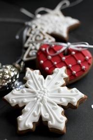 snowflake biscuit